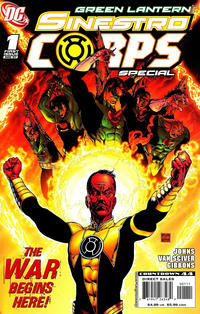 Cover Thumbnail for Green Lantern Sinestro Corps Special (DC, 2007 series) #1 [First Printing]