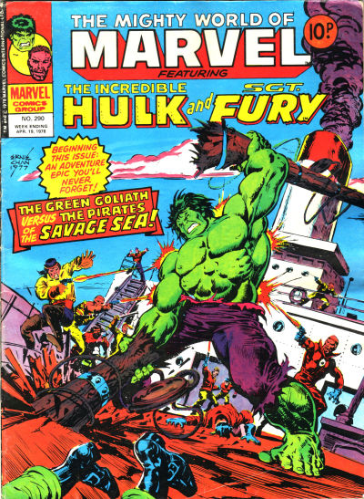 Cover for The Mighty World of Marvel (Marvel UK, 1972 series) #290