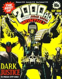 Cover Thumbnail for The Best of 2000 AD Monthly (IPC, 1985 series) #12