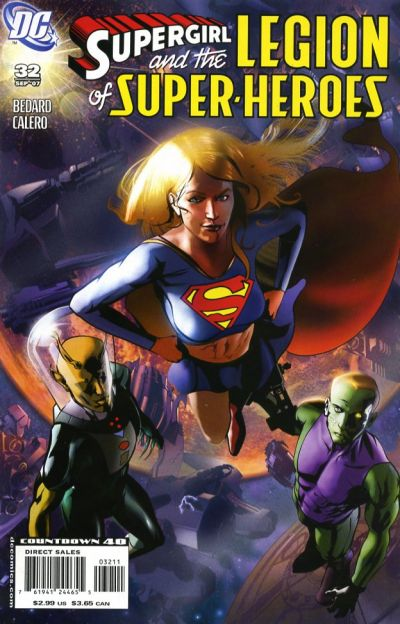 Cover for Supergirl and the Legion of Super-Heroes (DC, 2006 series) #32
