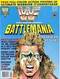 Cover Thumbnail for Battlemania (Acclaim / Valiant, 1991 series) #1