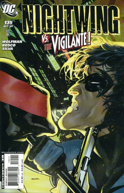 Cover for Nightwing (DC, 1996 series) #135