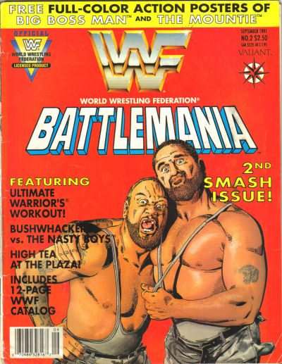 Cover for Battlemania (1991 series) #2
