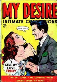 Cover Thumbnail for My Desire Intimate Confessions (Fox, 1949 series) #3