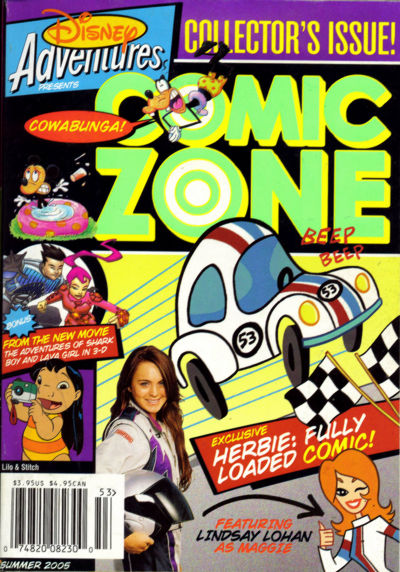 Cover for Disney Adventures Comic Zone (Disney, 2004 series) #Summer 2005 [4]