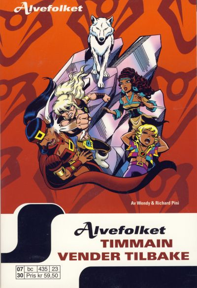 Cover for Alvefolket (Egmont Serieforlaget, 2005 series) #23