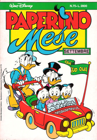 Cover for Paperino Mese (1986 series) #75