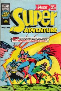 Cover Thumbnail for Super Adventure (K. G. Murray, 1976 ? series) #74