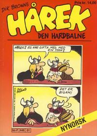 Cover Thumbnail for Hårek den hardbalne pocket (Allers Forlag, 1985 series) #100