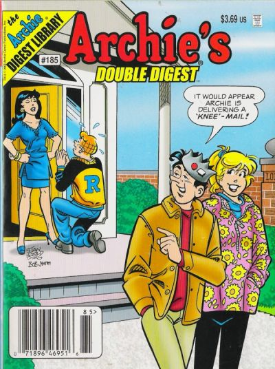 Cover for Archie's Double Digest Magazine (Archie, 1984 series) #185