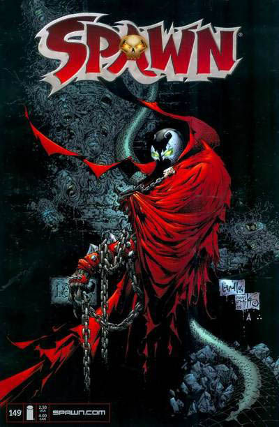 Cover for Spawn (Image, 1992 series) #149
