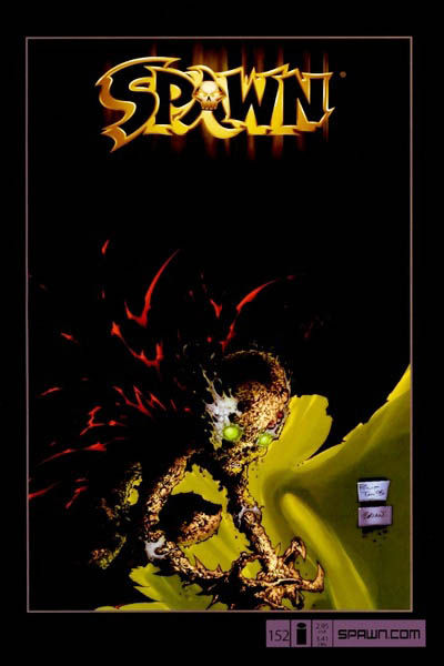 Cover for Spawn (Image, 1992 series) #152