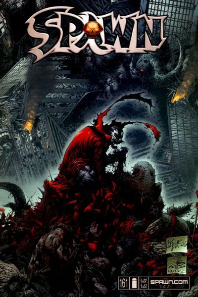 Cover for Spawn (1992 series) #161