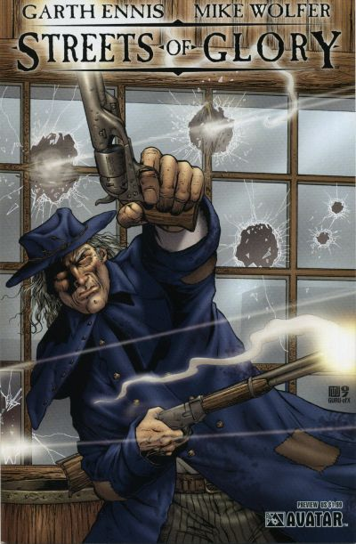 Cover for Garth Ennis' Streets of Glory Preview (Avatar Press, 2007 series)  [Regular Cover]