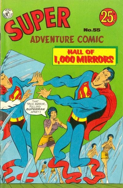 Cover for Super Adventure Comic (1960 series) #55