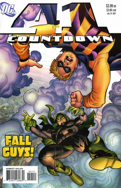 Cover for Countdown (2007 series) #41