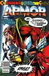 Cover for Armor (Continuity, 1985 series) #2 [Newsstand Edition]