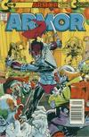 Cover for Armor (Continuity, 1985 series) #9 [Newsstand Edition]