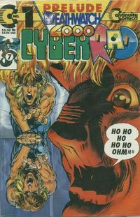 Cover Thumbnail for CyberRad Deathwatch 2000 (Continuity, 1993 series) #1