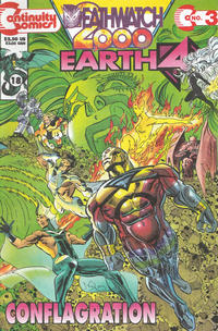 Cover Thumbnail for Earth 4 Deathwatch 2000 (Continuity, 1993 series) #3