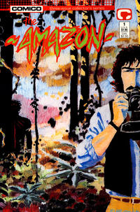 Cover Thumbnail for The Amazon (Comico, 1989 series) #1