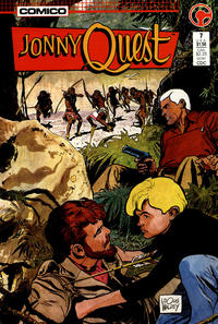 Cover Thumbnail for Jonny Quest (Comico, 1986 series) #7