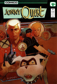 Cover Thumbnail for Jonny Quest (Comico, 1986 series) #11