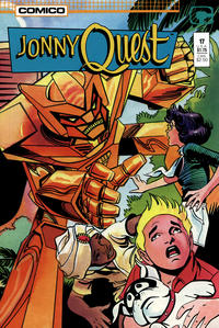 Cover Thumbnail for Jonny Quest (Comico, 1986 series) #17