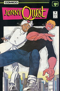 Cover for Jonny Quest (Comico, 1986 series) #19