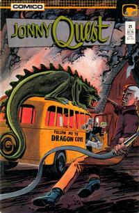 Cover Thumbnail for Jonny Quest (Comico, 1986 series) #21