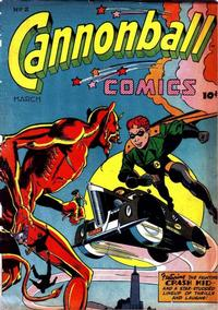 Cover Thumbnail for Cannonball Comics (Rural Home, 1945 series) #2