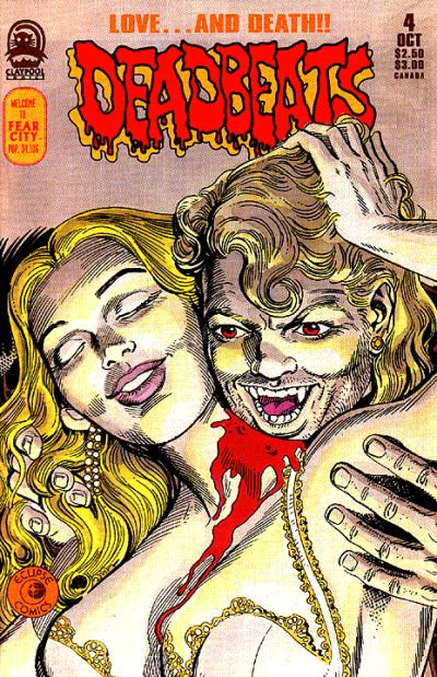 Cover for Deadbeats (Claypool Comics, 1993 series) #4