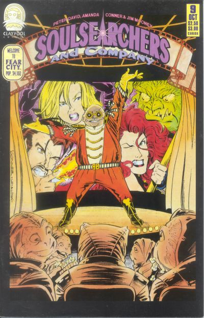 Cover for Soulsearchers and Company (Claypool Comics, 1993 series) #9