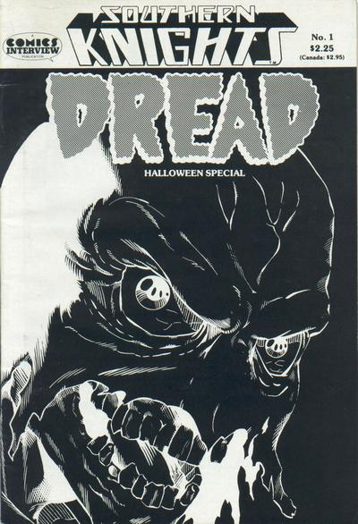 Cover for Southern Knights Dread Halloween Special (Comics Interview, 1988 series) #1