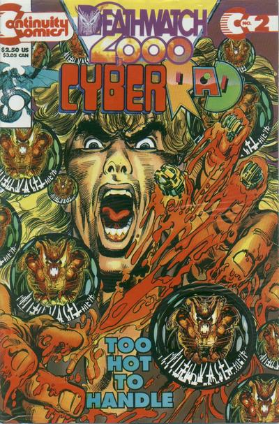 Cover for CyberRad Deathwatch 2000 (Continuity, 1993 series) #2