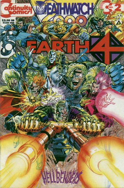 Cover for Earth 4 Deathwatch 2000 (1993 series) #2