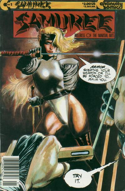 Cover for Samuree (1987 series) #1