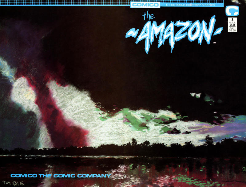 Cover for The Amazon (Comico, 1989 series) #3