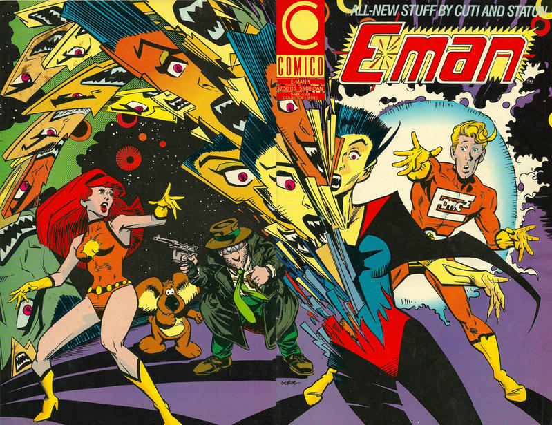 Cover for E-Man (1990 series) #1