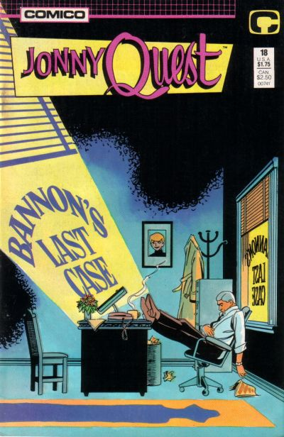 Cover for Jonny Quest (Comico, 1986 series) #18