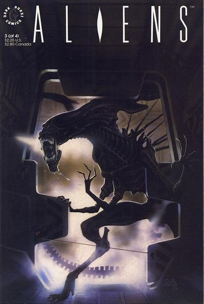 Cover for Aliens (Dark Horse, 1989 series) #3