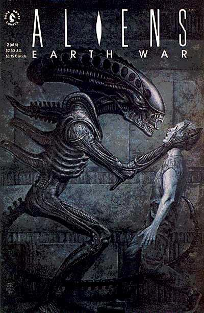 Cover for Aliens: Earth War (Dark Horse, 1990 series) #2