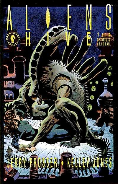 Cover for Aliens: Hive (Dark Horse, 1992 series) #1