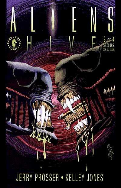 Cover for Aliens: Hive (Dark Horse, 1992 series) #3
