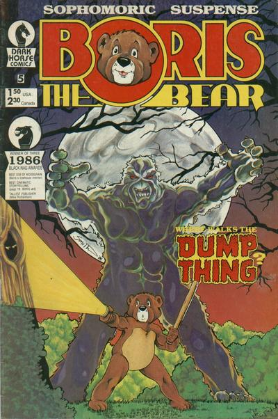 Cover for Boris the Bear (Dark Horse, 1986 series) #5