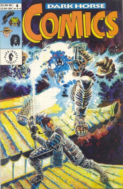 Cover for Dark Horse Comics (1992 series) #4
