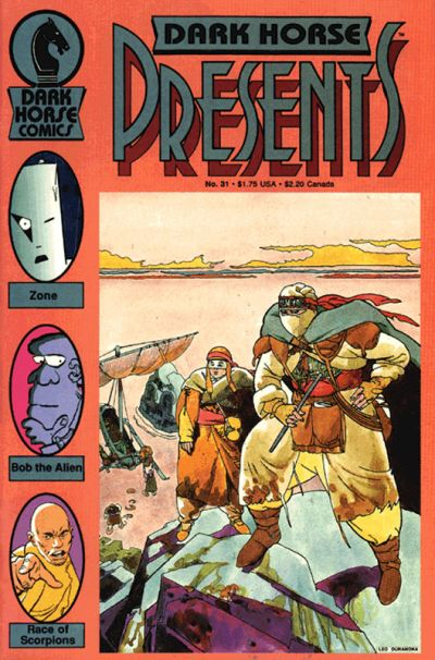 Cover for Dark Horse Presents (1986 series) #31