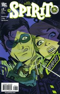 Cover Thumbnail for The Spirit (DC, 2007 series) #8