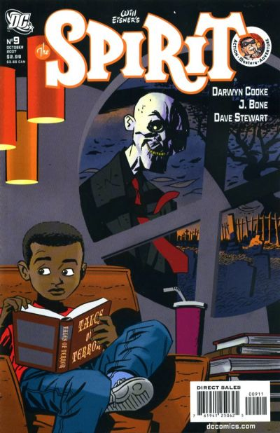 Cover for The Spirit (DC, 2007 series) #9