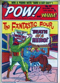 Cover Thumbnail for Pow! and Wham! (IPC, 1968 series) #67